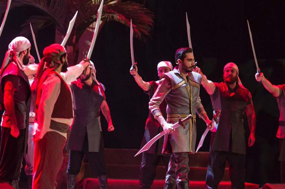 Saudi Arabia witnesses its first opera show in history
