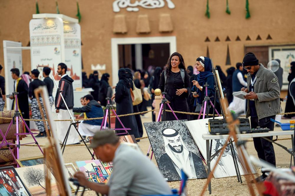 Al-Jenadriyah Festival removes barriers impeding women